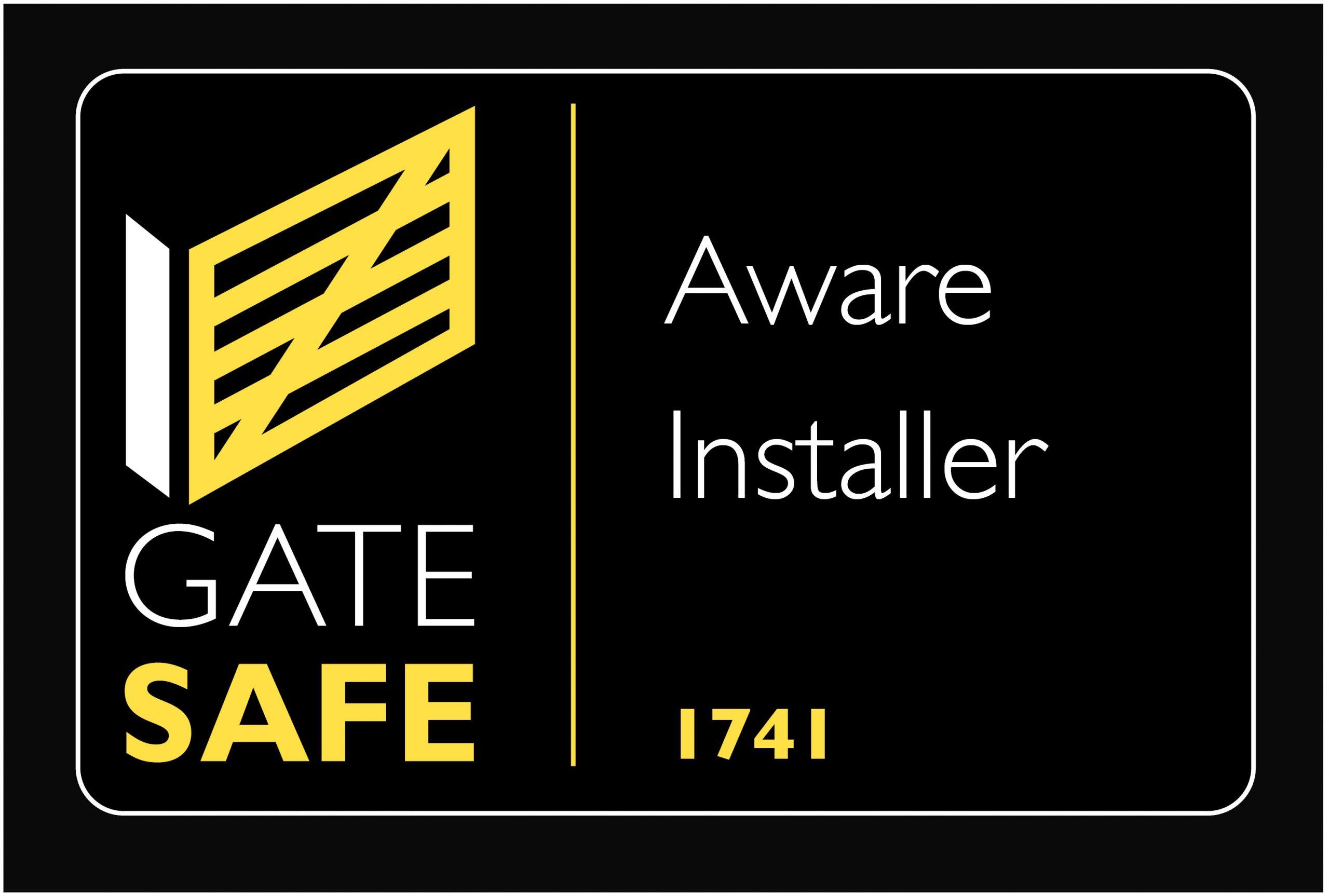 Gate safe logo company 1741 Hawk Property Protection